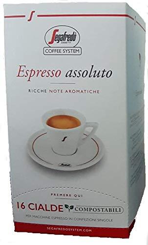 96 CIALDE ESE CAFFE SEGAFREDO ZANETTI ESPRESSO ASSOLUTO 44 mm