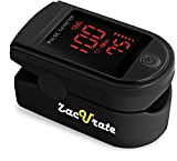 Zacurate Pro Series 500DL Fingertip Pulse Oximeter Blood Oxygen Saturation Monitor with Silicon…