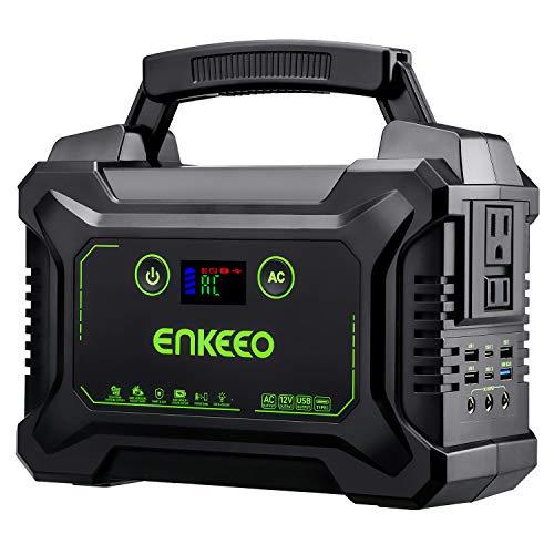 enkeeo ポータブル電源 大容量 S220 60000mAh/222Wh 家庭用蓄電池 USB出力x6口・AC出力x2口(300W)・DC出...