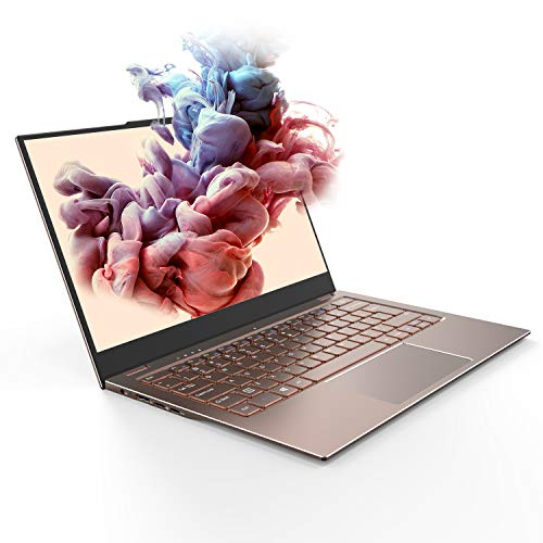 Jumper X3 Air Laptop 13.3-inch 8GB RAM 128GB SSD Thin and Light Computer, DTS sound/180°Rotation/Gemini Lake N4100/Dual-band WiFi/Full Metal body/Window10, PC Supports SSD 1TB Expansion Memory