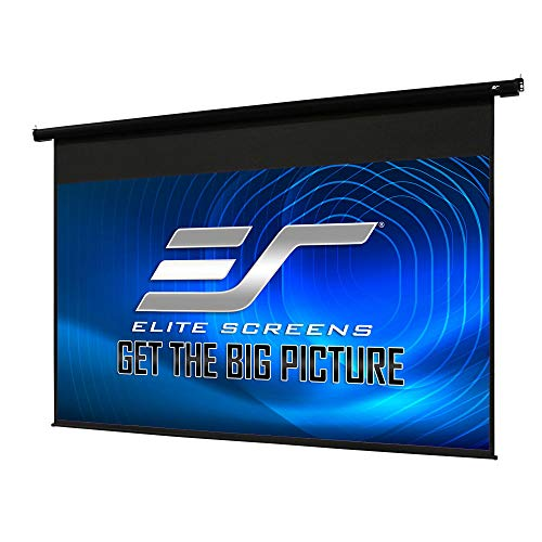Elite Screens Spectrum Electric Motorized Projector Screen with Multi Aspect Ratio Function Max Size 110-inch Diag 16:9 to 104-inch Diag 2.35:1, Home Theater 8K/4K Ultra HD Ready Projection, ELECTRIC110H