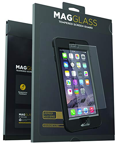 Magglass Custom Screen Protector for Lifeproof Nuud Case (iPhone 6) Tempered Glass Only, Case Not Included