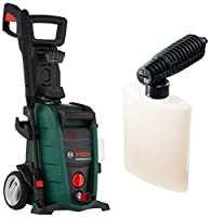 Product 1: More cleaning performance : New 3 in 1 nozzle including fan jet, roto, and pencil jet.High pressure foam as standard Product 1: Easier to move and store: Folding, telescopic handle and new secondary lifting handle for greater convenience. ...