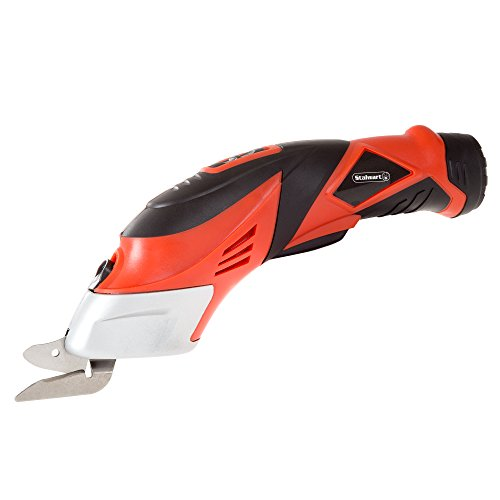 Stalwart - 75-PT1022 Cordless Power Scissors With Two Blades - Fabric,...