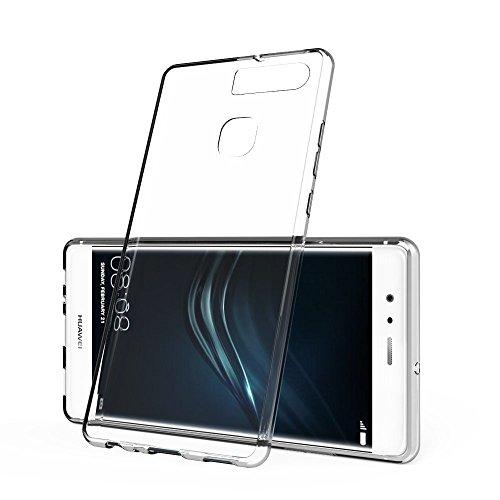 【SuperPlus】Huawei P9 専用 +ファーウェイ全シリーズPUケース より快適なフィット感、実用性が高く(紙幣/カード収納)長持ちのスマホレザーケース 精巧な携帯ケース 防水携帯ケース (SuperPlus ビジネスシリーズ)-(ブラック)