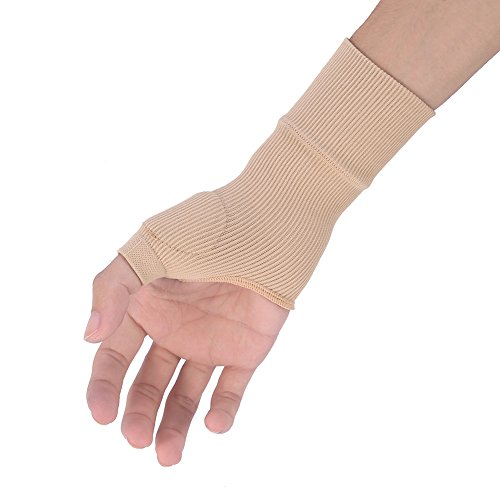 1 Pair Therapy Gloves Gel Filled Thumb Hand Wrist Support Arthritis Compression
