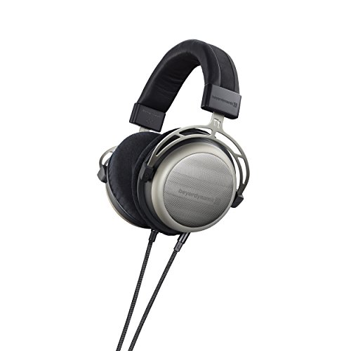 beyerdynamic T 1 (2. Generation) Over-Ear-Stereo Kopfhörer. Halboffene Bauweise, steckbares Kabel, High-End