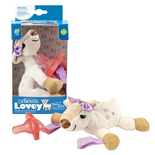 Dr. Brown's Baby Lovey Pacifier