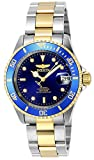 The Invicta 8928OB has a 40 mm stainless steel case with a Blue dial This model is powered by an accurate Automatic movement 20 bar water pressure resistant This model is part of the Invicta Pro Diver collection Including 2-year Invicta warranty