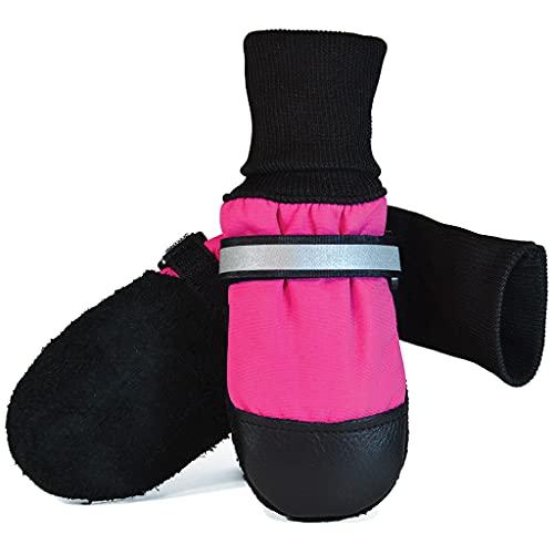 Muttluks Original Fleece-Lined Dog Boots – Warm,...