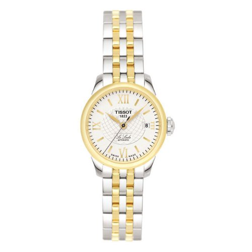 Tissot Damen-Armbanduhr Le Locle Edelstahl T41218313