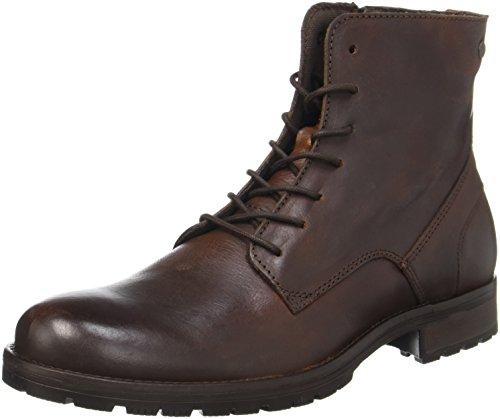 JACK & JONES Jfworca Leather, Botas Clasicas para Hombre, Marrón (Brown Stone), 43 EU