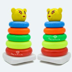 Junior smiley stacking ring toy for kids | Stacking ring toy for kids