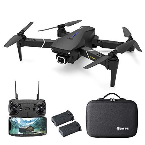EACHINE E520S Drone GPS 4K Telecamera 5G WiFi Due Batterie e Valigetta App Controllo Drone Pieghevole Selfie modalit Seguire