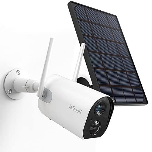 【Version Mejorada】 Camaras de Vigilancia WiFi Exterior con...