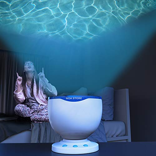 Calming Autism Sensory LED Light Projector Toy Relax Blue...