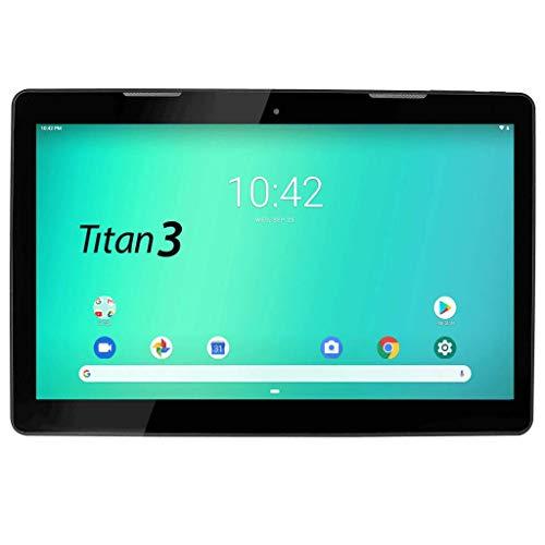 HANNSPREE Hannspad 133 Titan 3 SN14TP1B2A Android 9-Tablet 33.8 cm (13.3 Zoll), 2GB RAM, 16GB eMMC, WiFi, Schwarz