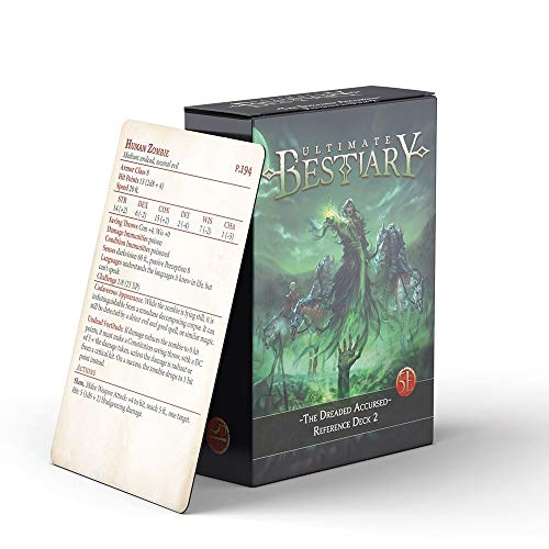 The Dreaded Accursed - Reference Deck 2