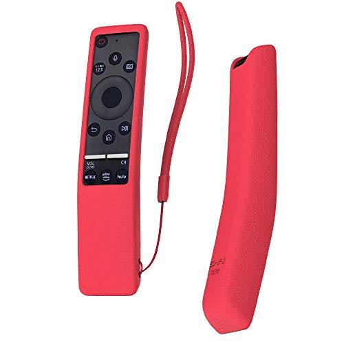 SIKAI Custodia Protettiva Compatibile con Telecomando Samsung UHD 4K Smart TV Bluetooth Remote Control RMCSPR1BP1 / BN59-01312A Copertura Protettiva Cassa (Rosso)