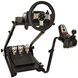 CINGO Racing Wheel Stand Pro for Logitech G25 G27 G29 G920 Driving Simulator Cockpit Racing Wheel Shifter and Pedals NOT Included (G920)