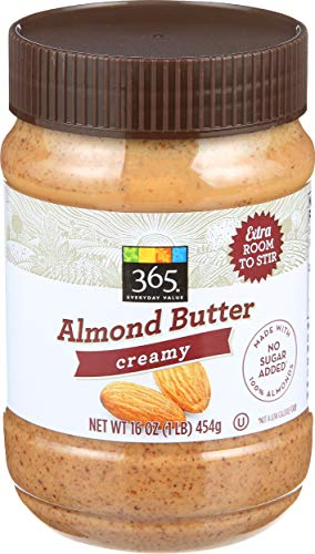 365 Everyday Value, Almond Butter, Creamy, 16 oz