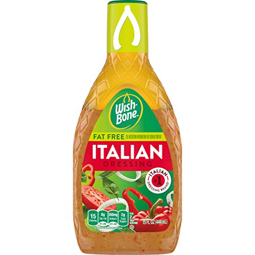Wish-Bone Salad Dressing, Fat Free Italian Dressing, 15 oz