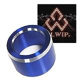 ALWIP(アルウィップ)【SUBARU専用設計】ミラースイッチ アルミカバー (ブルー)