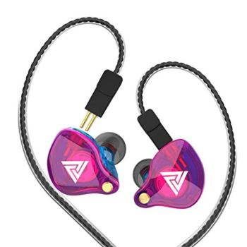 Wired Earphone with Microphone QKZ VK4 Stereo Wired Earphone Earbuds Bass Earphones 3.5mm Sport Gaming Headset with Mic