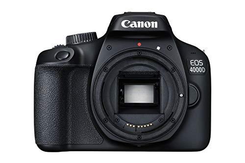 Canon Italia EOS 4000D, Fotocamera Reflex, Nero