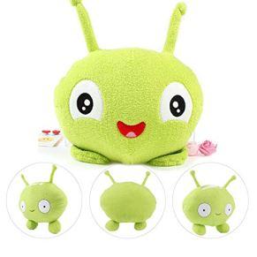 Lz Mooncake Plush Figure, Cartoon 10 '' Final Space Mooncake Alien Plush Toy Soft Stuffed Doll Gift Green 25cm /A
