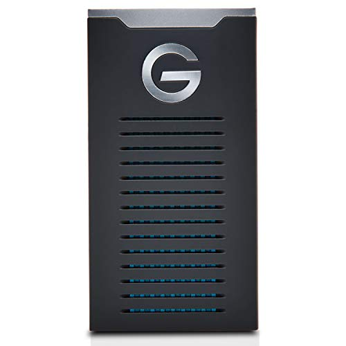 G-DRIVE Mobile SSD R-Series 2 TB and up to 560 MB / s, portable storage, resistant to drops, shocks and water