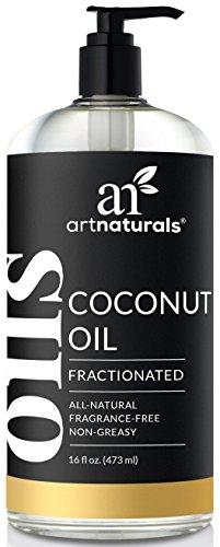 ArtNaturals Premium Fractionated Coconut Oil - (16 Fl Oz /...