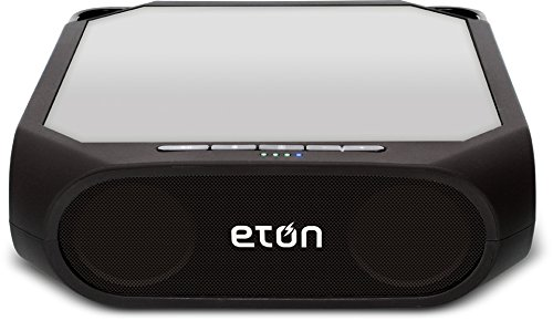 Eton NRKS200B Rugged Rukus All-Terrain Portable Solar Wireless Sound System