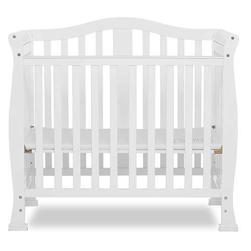 Dream On Me Addison 4 in 1 Convertible Mini Crib, White