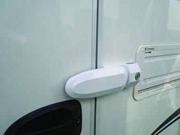 Milenco Caravan / Motorhome Door Frame Lock Inside & Out VERSION TWO