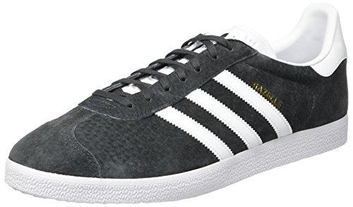 adidas Gazelle, Zapatillas de deporte Unisex Adulto, Gris (Dgh Solid Grey/White/Gold Metallic), 43 1/3 EU