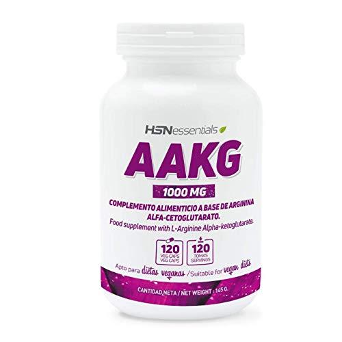 Arginina AKG de HSN   1000mg   Óxido Nítrico más Potente,