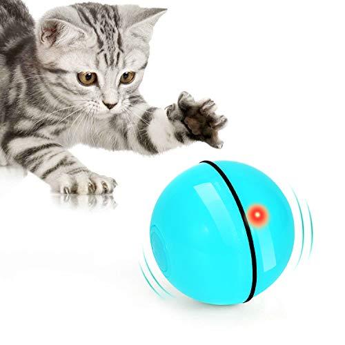Juguetes para Gatos Pelota Giratoria Automática de 360 Grados