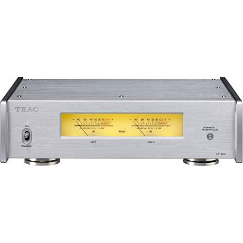 TEAC AP-505 HiFi Verstärker der Klasse D (schaltbar, 3 Ausgabemodi, Schutzschaltung, Aluminiumgehäuße, Ringkerntransformator), Silber