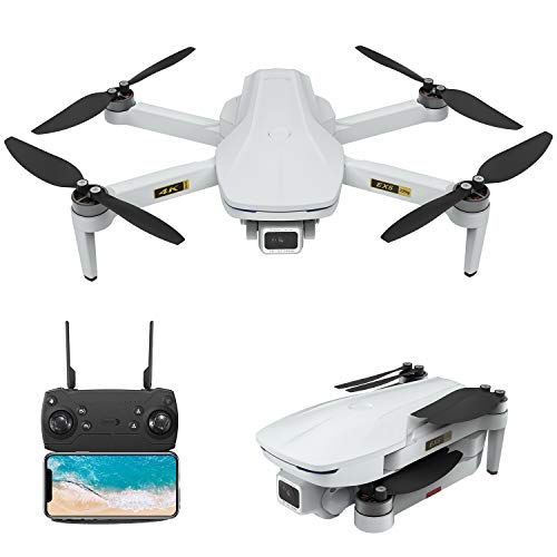 EACHINE Drone avec caméra Pivot-réglable EX5 4K HD GPS 5G-WiFi Moteur Non-brossé 1000m Distances de contrôle Drone Pliable Multifonctionnel