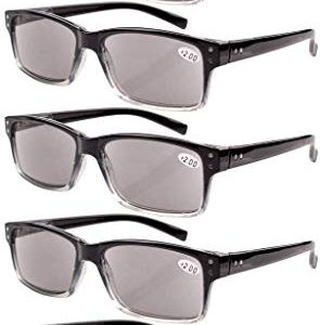 Reading Glasses 5-Pack for Men and Women Includes Full Readers Sunglasses
