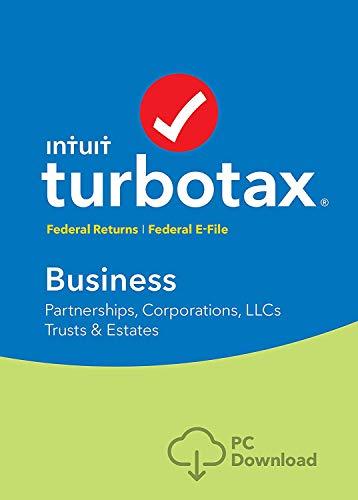 TurboTax Business 2018 (Partnerships, Corporations, LLCs, Trusts & Estates) [PC Download]