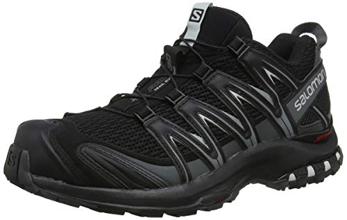 SALOMON Xa Pro 3d, Men's Trail Running Shoes,Black (Black Magnet Quiet Shade)-11 1/2 UK (46 2/3 EU)