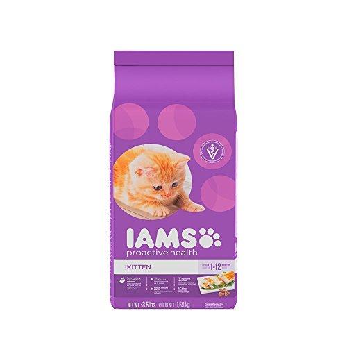 Iams Proactive Health Healthy Kitten Dry Cat Food 3.5 Pounds