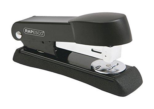 Rapesco 1091 Minno Cucitrice da Scrivania in Metallo, Capacit di 20 Fogli, Punti 26 & 24/6 mm, Barra...
