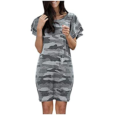 ◆Features: Round neck,sleeveless,short sleeves,two side pockets,floor length,elastic at waist,not lined,maxi dresses,long dress,casual basic style. ◆Simple casual style, fit for everyday dressing, wear at home, travel, you can match with your pumps, ...