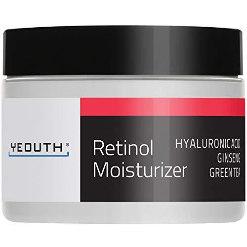 YEOUTH Retinol Cream Hidratante 2.5% para Rostro con Ácido