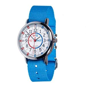 EasyRead Time Teacher Analog Learn The Time Kids Watch Blue #ERW-RB-PT-B