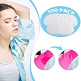 Underarm Sweat Pads - OTTOLIVES PREMIUM QUALITY Fight Hyperhidrosis [100 Pack] for Men and Women Comfortable, Non Visible, Extra Adhesive, Disposable Dress Guards/Shields, Sweat Free Armpit Protection