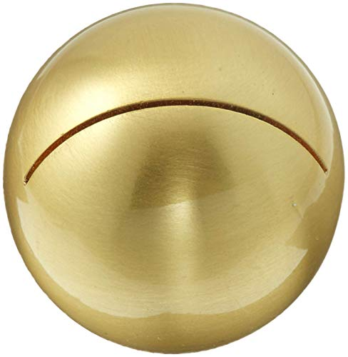 Weddingstar Classic Round Place Brushed Gold Card Holder, 0.4 x 1 x 1 inches